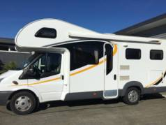 2013, 6 Berth, 7m Long 								<br>3 element gas stove top and oven 								<br>Satellite television  								<br>cycle carrier and tow bar 								<br>mileage 23501 miles / 37821 km